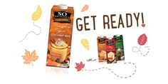 Fall means Pumpkin Spice Coconut Milk Beverage.  Get ready for our favorite fall beverage!
