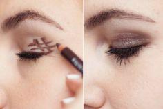 O truque mais fácil para fazer olho esfumado