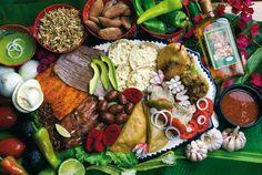 Penetrar en el mundo gastronómico de Oaxaca es adentrarse en un universo sorprendente por su diversidad y coherencia. / The Oaxacan gastronomy takes you on an amazing journey into one of the most outstanding and colorful cuisines in the world.
