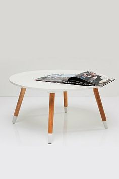 Dipped Legs Coffee Table in White