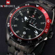 AVIFORCE Full steel Watch Men Quartz Military Waterproof Watch Mens Watches Top Brand Luxury Casual Watches