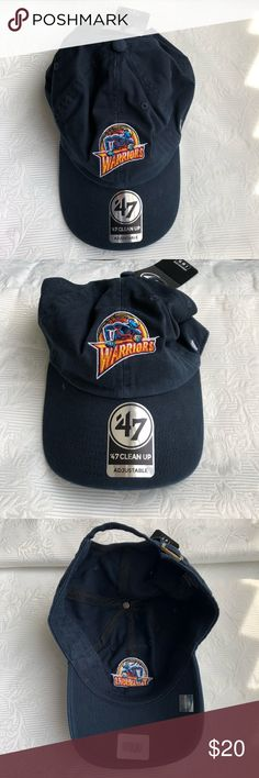 f187ed278df NWT NBA Warriors  47 Adjustable Hat NWT NBA Warriors  47 Adjustable Hat 47  Accessories
