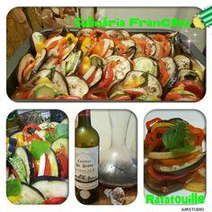 Culinária Francesa por aqui .. rs ..famoso Ratatouille.. feito por mim.. feito com carinho.. amo cozinhar ! 💜🔝