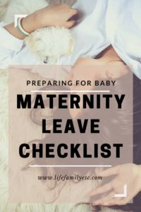Hold on mama, have you prepared for maternity leave? Click through for your checklist of ways to prepare for maternity leave so you can enjoy your time with your new baby!