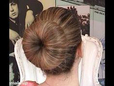 Nursing School Clinicals, Donut Hair Bun