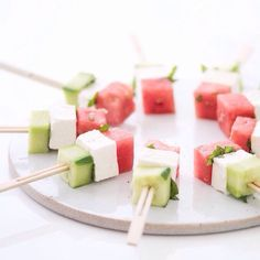 #watermelon #feta #cucumber