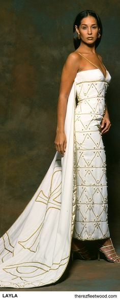Egyptian wedding dress by Therez Fleetwood.My most favorite wedding designer! Egyptian Wedding Dress, African Wedding Dress, African Dress, Wedding Attire, Wedding Gowns, Bridal Gowns, Mode Glamour, Style Africain, Ethnic Wedding
