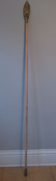 diy costume spear | Chuck Does Art: DIY Spartan Hoplite Costume: How to Make a Spear (Dory ...