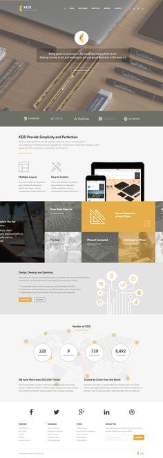 Keid - Modern Multipurpose Wordpress Theme