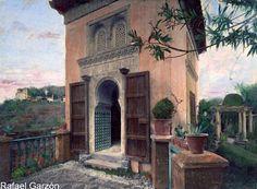 Granada antigua Mezquita del Generalife Old photograph,fotos, old, century, photos, nineteenth, xix, siglo