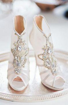 5e29ae33fb 25 Gorgeous Embellished Wedding Shoes Ideas  gorgeous  embellished  wedding   shoes  ideas