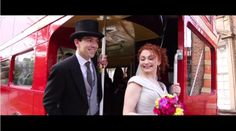 Steve from Newlywed Films recently contacted me to share one of his favourite wedding films from Wedding Wows, Wedding Film, Wedding Blog, London Transport Museum, Newlyweds, Transportation, David, Amazing, Glass