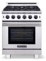 American Range Pro-Style Gas Range with 5 Sealed Burners, cu. Innovection Oven, Manual Clean, Infrared Broiler and Island Trim Included: Natural Gas Restaurant Equipment, Oven Range, Kitchen Appliances, Kitchens, Cleaning, American, Ranges, Stainless Steel, Door Wall