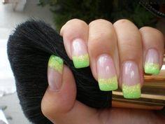 Glittery nails   LUUUX