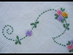 Basic Hand Embroidery Stitches. part (2)