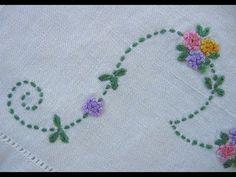 Hand Embroidery: Bullion Knot Stitch - YouTube