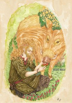 Freyr lord of the Aesir Art Print by Milbeth Morillo - X-Small Norse Pagan, Pagan Art, Wiccan, Magick, Witchcraft, Nordic Goddesses, Gods And Goddesses, Loki Mythology, Asatru