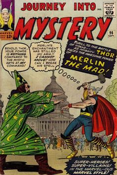 Journey Into Mystery #96. Thor vs Merlin.