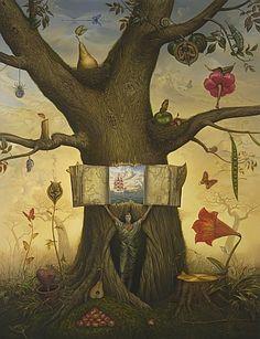 Kush painting...Genealogy Tree. My favorite artist.