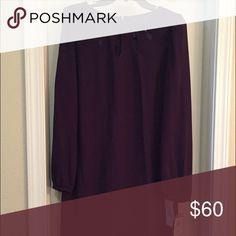Purple dress New with tags Gabby Skye Dresses Long Sleeve