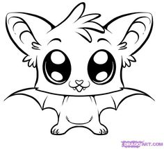 Cute Halloween Bat Drawings Wallpapers how to draw a cute bat step