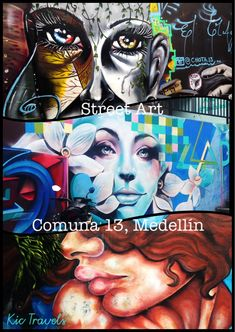 Visit Comuna 13 in Medellin. Although once one of the most dangerous neighbourhoods in Colombia it is now a success story of social transformation. Take a tour to learn about it's history and see the street art, breakdancers and infamous escalators.