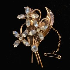 Early Simpson Flower Spray Brooch Flower Spray, Designer, Brooch, Jewellery, Vintage, Flowers, Jewels, Jewelry Shop, Jewerly
