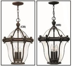 San Clemente Sm Ext Hanging Light