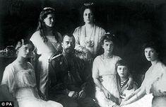 Tsar Nicholas and the rest of the doomed Romanov family...