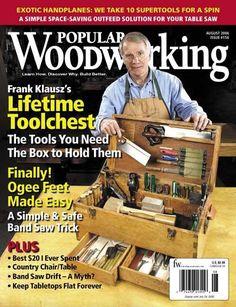 Popular Woodworking August 2006   ShopWoodworking