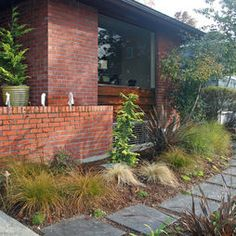 Landscape Mid Century Modern Garden Design, Pictures, Remodel, Decor and Ideas - page 9
