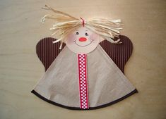 halloween crafts for kids Engel basteln - Halloween Crafts For Kids, Christmas Crafts For Kids, Christmas Angels, Kids Crafts, Ghost Crafts, Angel Crafts, Bat Craft, Diy Angels, Decor Inspiration