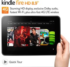 Amazon Kindle Fire HD 4G LTE - Pre-Order today! If you want it for Christmas, order now! They are starting to get backed up! Get it here: http://lifesabargain.net/amazon-kindle-fire-hd-4g-lte/