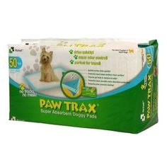 Paw Trax Pet Training Pads 50 Count (3 Pack) * For more information, visit image link.