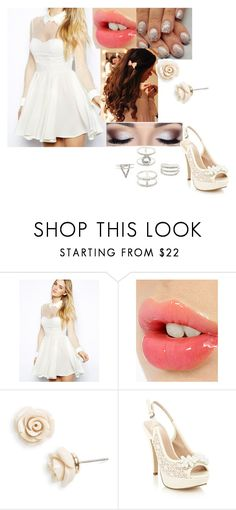 """""""Untitled #563"""" by sophie-quake-jones ❤ liked on Polyvore featuring Arrogant Cat, Charlotte Tilbury, Betsey Johnson, Faith and Charlotte Russe"""