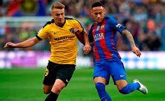 Blog Esportivo do Suíço:  Sem Messi e Suárez, Neymar apanha muito, Barça só empata e pode ver Real disparar