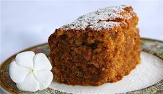 Weil's Carrot Cake - The Culinary Chase Carrot cake - Dr Andrew Weil Great Desserts, Healthy Desserts, Dessert Recipes, Healthy Foods, Healthy Recipes, Yummy Treats, Sweet Treats, Yummy Food, Sweet Recipes