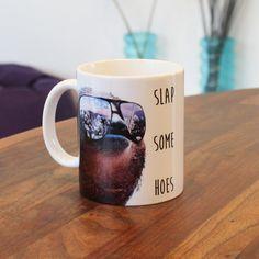 Gangster Sloth Slap Some Hoes Mug Cup von Memeskins auf Etsy