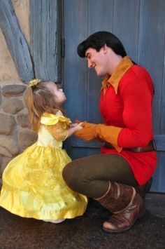 """""""Belle"""" and Gaston"""