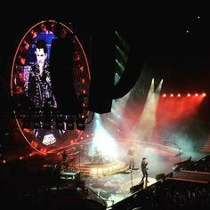 """Queen + Adam Lambert! ❤️ #brazil #saopaulo #ibirapuera #samsunggalaxylive #queen #adamlambert #september2015"""