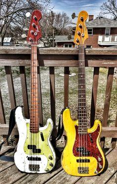 Fender Bass Guitar, Fender Guitars, Acoustic Guitar, Fender Precision Bass, Bass Guitar Lessons, Double Bass, Guitar For Beginners, Custom Guitars, Epiphone