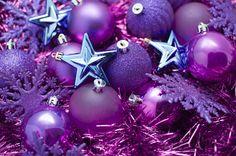 30 Vibrant Purple Christmas Decorations   DesignRulz.com