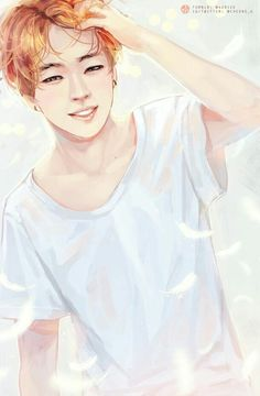 Jimin lovely artwork