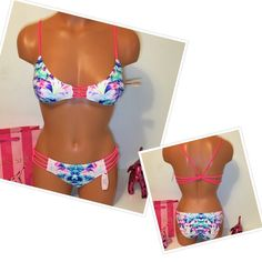 NEW VS GORGEOUS STRAPPY SWIMSUIT Victoria's Secret 