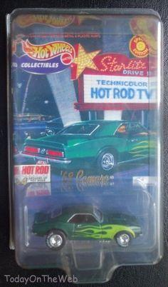 Hot Wheels '68 Camaro Hot Rod Magazine Hot Rods Series Green MOC #HotWheels