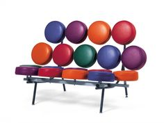 Modular Sofa MARSHMALLOW SOFA by @Vitra Furniture Furniture Furniture | Design George Nelson (1956)
