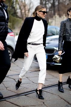 Crisp and Classic - What the Stylish Girls Will Be Wearing This Spring - Photos