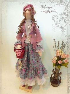 Купить Кукла тильда: Филадельфия (коллекция Бохо) - тильда, кукла Тильда, тильды, куклы тильды ♡