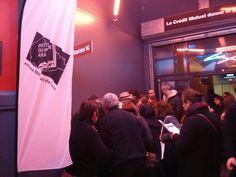 Dedicace apres le concert avec une partie de l'orchestre national de Barbes