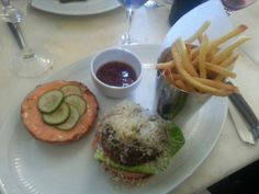"""See 57 photos and 25 tips from 489 visitors to Le Chardenoux. """"Firstly the food hear is absolutely incredible, last time I was here I had the beef. Hamburger, Menu, Paris, Ethnic Recipes, Food, Ile De France, Menu Board Design, Montmartre Paris, Meals"""